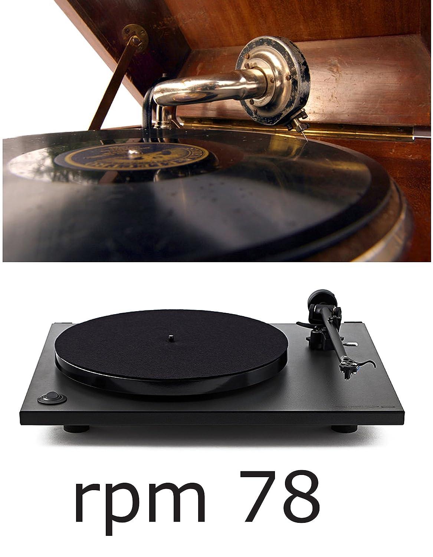 Tocadiscos RP 78 Rega solo 78 RPM Color Negro Completo de cabezal ...