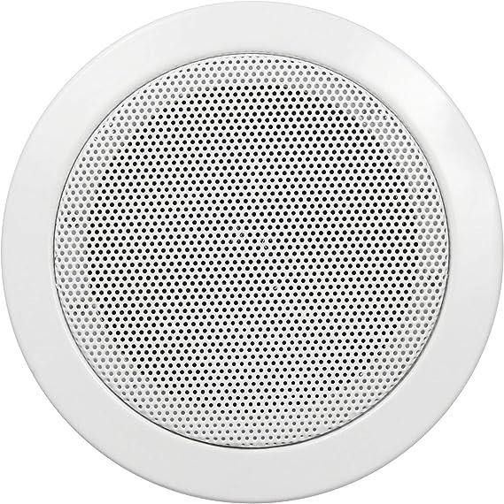 Hollywood DL-11 - Altavoz empotrable (diámetro de 115 mm, 50 W), Color Blanco