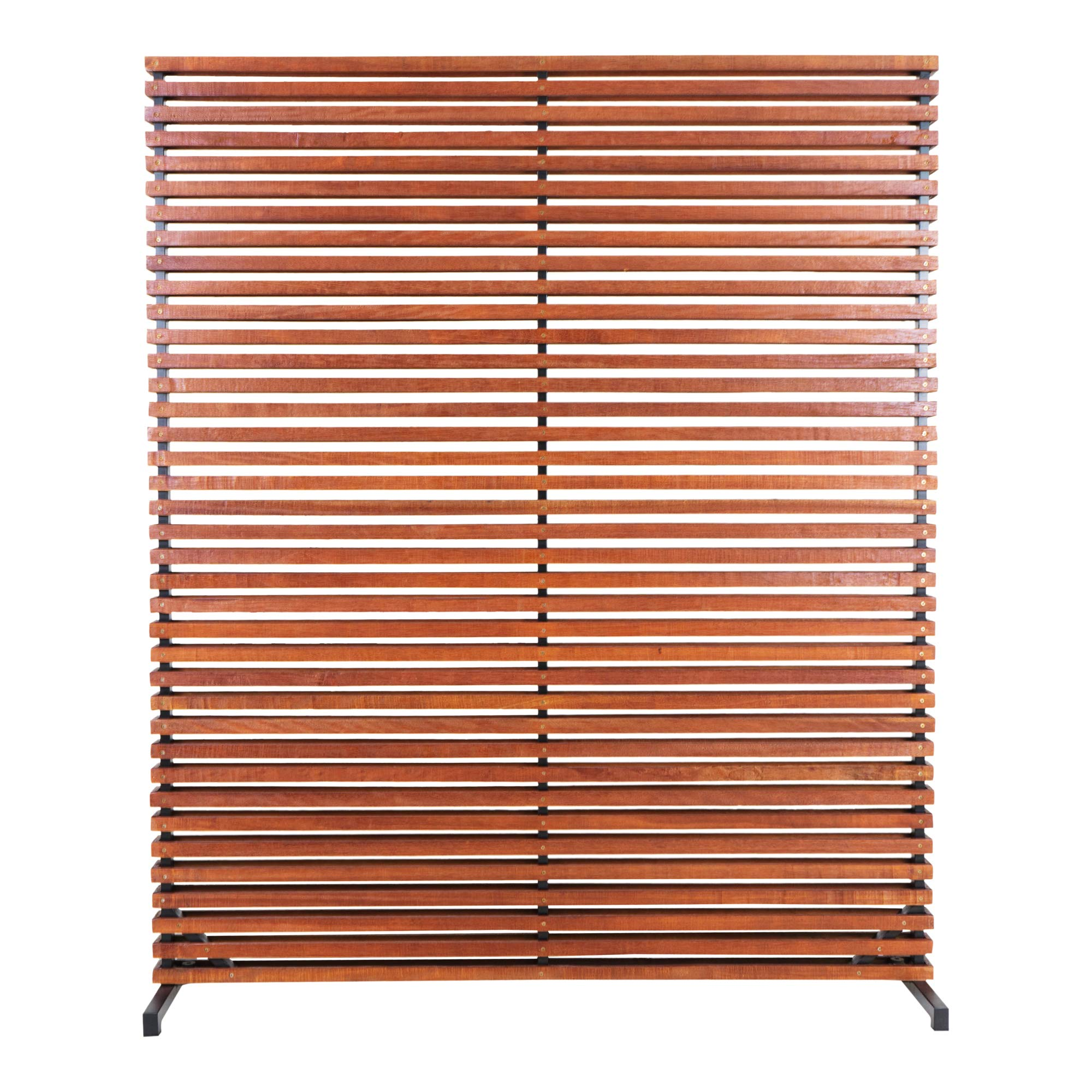 Moe's Home Collection Gallin One-Panel Room Divider, Brown