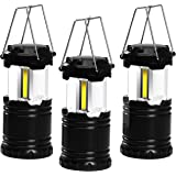 Utopia Home LED COB Camping Lantern - Collapsible Design - All Weather Design - Pack of 3 - by