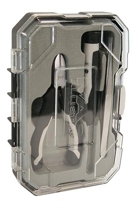 Pequeño estuche herramientas de precisión (3 piezas, Mac Allister ...