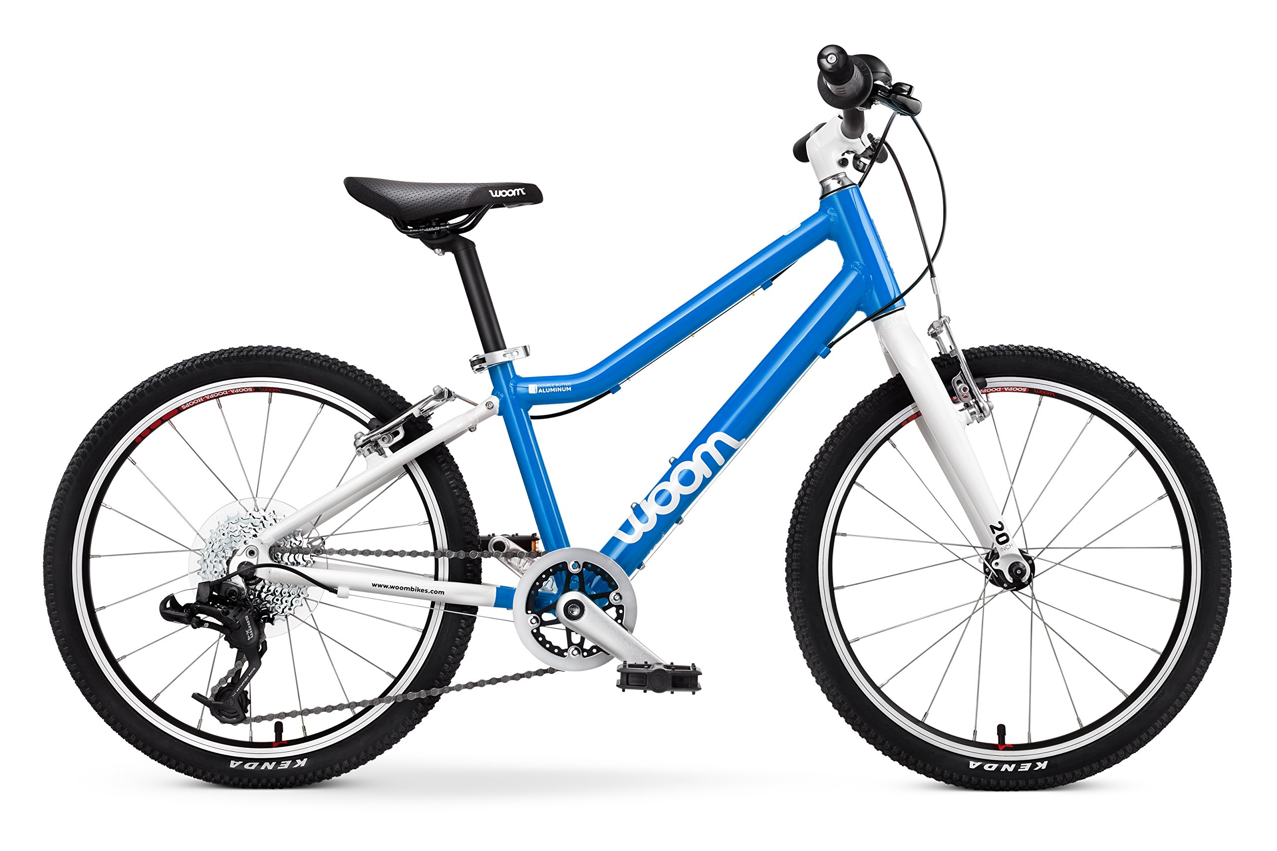 "Woom 4 Pedal Bike 20"", 8-speed, Ages 6 to 8 Years, Blue by WOOM BIKES USA"