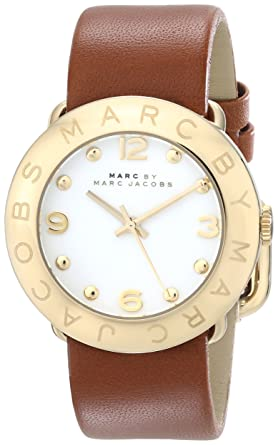 61748e82209e2 Image Unavailable. Image not available for. Color: Marc by Marc Jacobs  Women's MBM8574 Amy Gold-Tone Watch ...