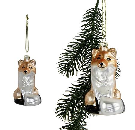 Fuchs Christbaumschmuck Weihnachten Weihnachtskugel Baumschmuck