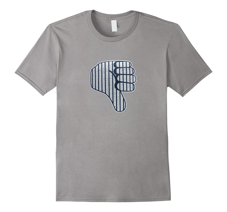 new products 4cd2b 9672b Thumbs Down Guy T Shirts Funny Baseball Fan Yankee New York-ANZ