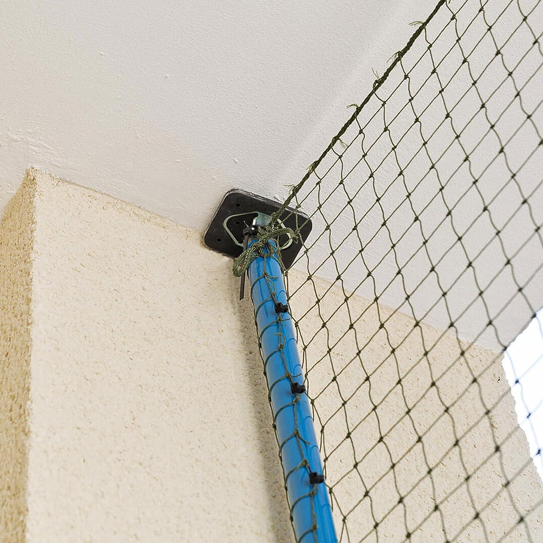 ALLEGRA Katzennetz für Balkon oder Fenster, Katzenschutznetz mit ...