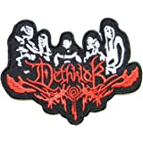 Dethklok Punk Rock Heavy Metal Music Band Logo Patch Iron on Embroidered Appliques Badge Sign Costume Gift