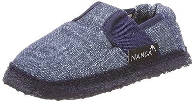 Nanga Unisex-Kinder Jeany Niedrige Hausschuhe, Blau (Blau 30), 30 EU