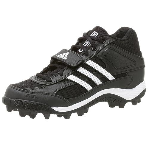 Adidas Corner Blitz 7 Md Low, schwarz runwht METSIL, 8 M