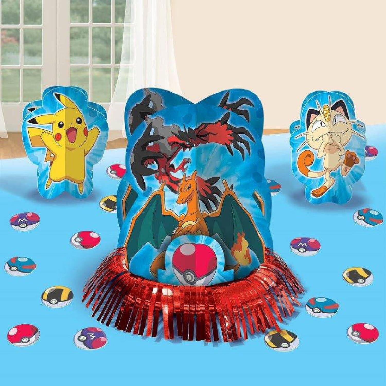 Pokemon Birthday Party Table Centerpiece Decorations