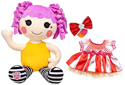 af8ce835bee Image Unavailable. Image not available for. Color  Build a Bear Peanut Big  Top Lalaloopsy Doll Signature ...