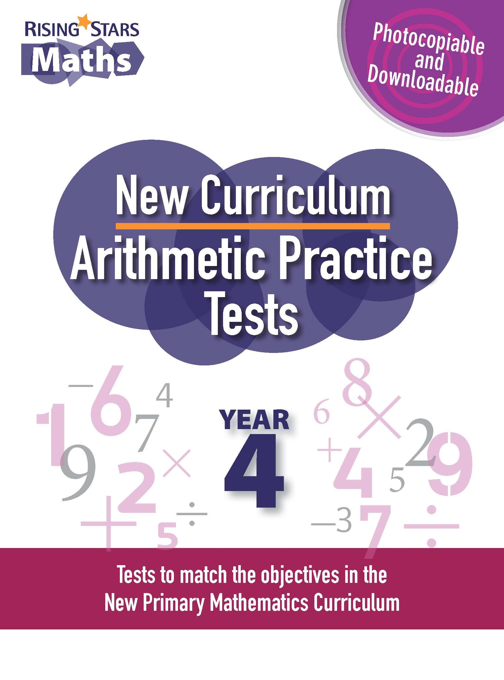 Download New Curriculum Arithmetic Tests Year 4: Year 4 ebook