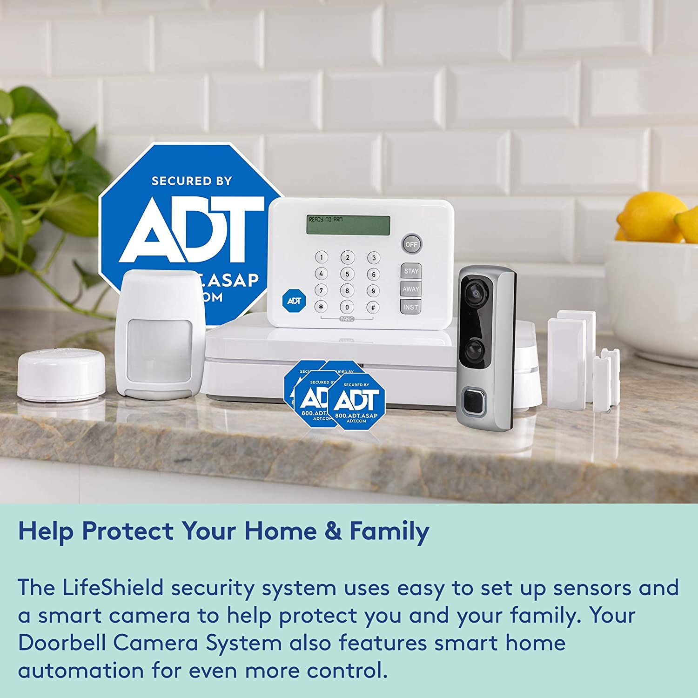 Amazon com : HD Video Doorbell Camera System from LifeShield