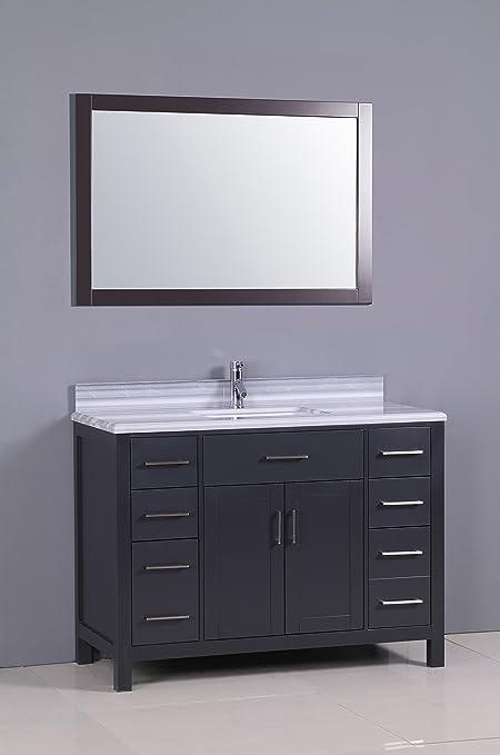 golden elite 48 carrera bathroom vanity espresso bathroom rh amazon ca painting bathroom vanity espresso bathroom vanity mirror espresso