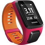 Tom Tom Runner 3 GPS Running Watch - Small Strap, Dark Pink/Orange