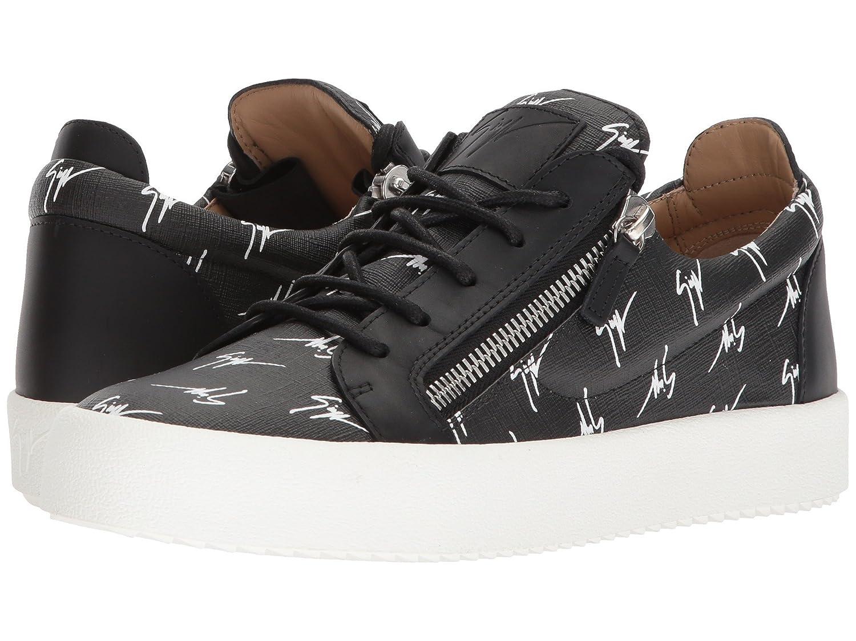 [ジュゼッペザノッティ] メンズ スニーカー May London Logo Low Top Sneaker [並行輸入品] B07CZ9NX2R
