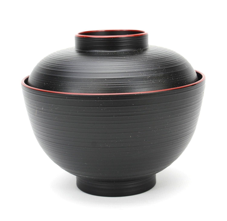 madera arroz sopa de Miso cuenco juego de 4 JapanBargain s-1653/X 4