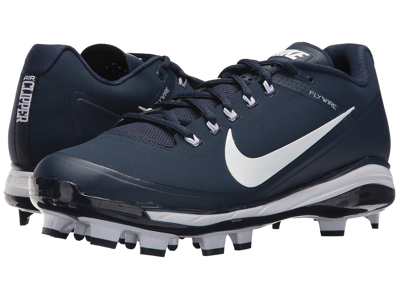 (ナイキ) NIKE メンズ野球ベースボールシューズ靴 Clipper '17 MCS College Navy/White/White 8.5 (26.5cm) D Medium B078Q1ZZWM