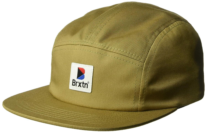 BRIXTON Gorra 5 Paneles Stowell Kaki Oscuro - Ajustable: Amazon.es ...