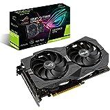 ASUS ROG Strix GeForce GTX 1650 Super Advanced 4GB Edition GDDR6 HDMI 2.0 DP 1.4 Gaming Graphics Card (ROG-STRIX-GTX1650S-A4G