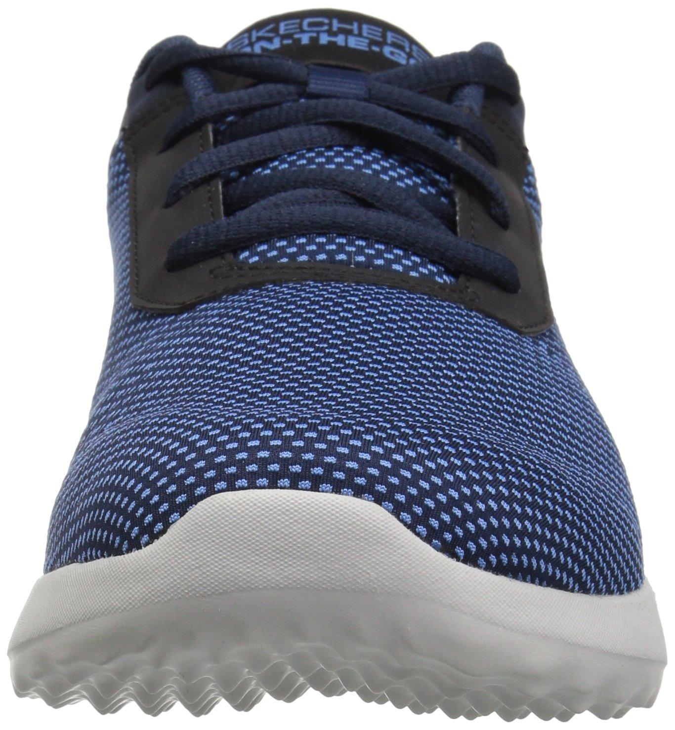 Skechers Women's on-The-Go City 3.0-Brilliance Sneaker B078GPX6GL 6.5 B(M) US|Navy/Gray