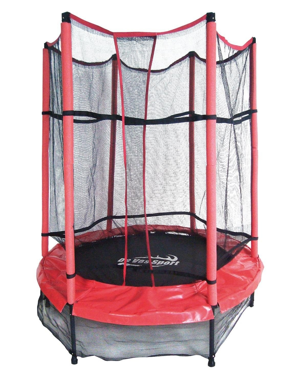PL Ociotrends Bett von elastisch rot mit Kindern 152 x 183 cm.