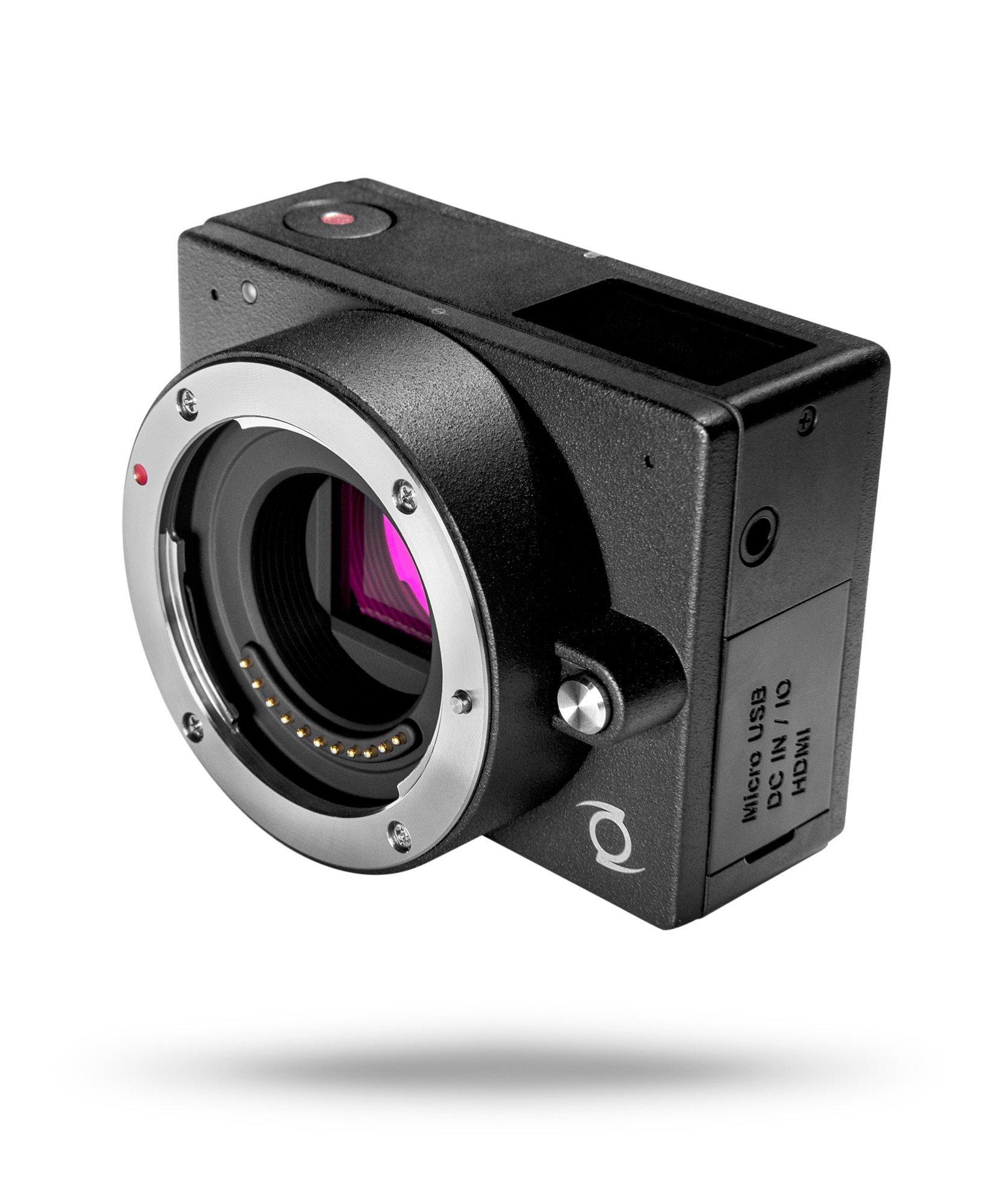 Z Micro Four Thirds Digital Camera with 1.5-Inch LCD, Black (E1CAM3C701) by Z