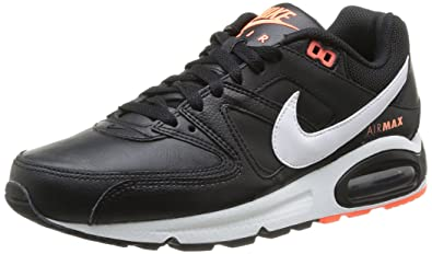 the latest b2419 34685 Nike 409998 018 Air Max Command Leather Herren Sportschuhe - Running  Mehrfarbig (Black White