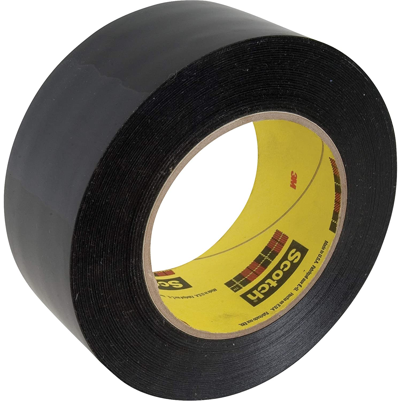 3M Preservation Sealing Tape 481 Black 2 in x 36 yd Single Roll