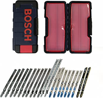 Bosch 21Pc. T-Shank Contractor Jig Saw Blade Set
