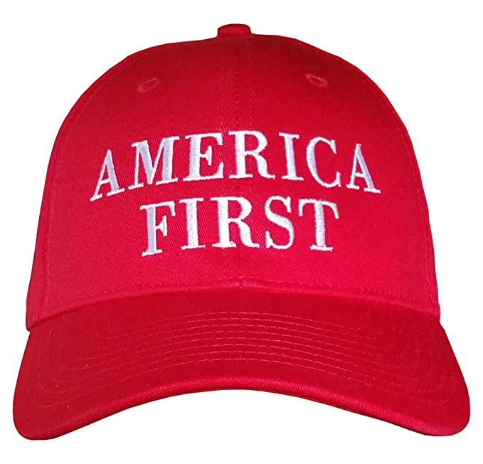 14306b032 America First ~ HAT is MADE in USA ~ Make America Great Again ~ Trump Hat