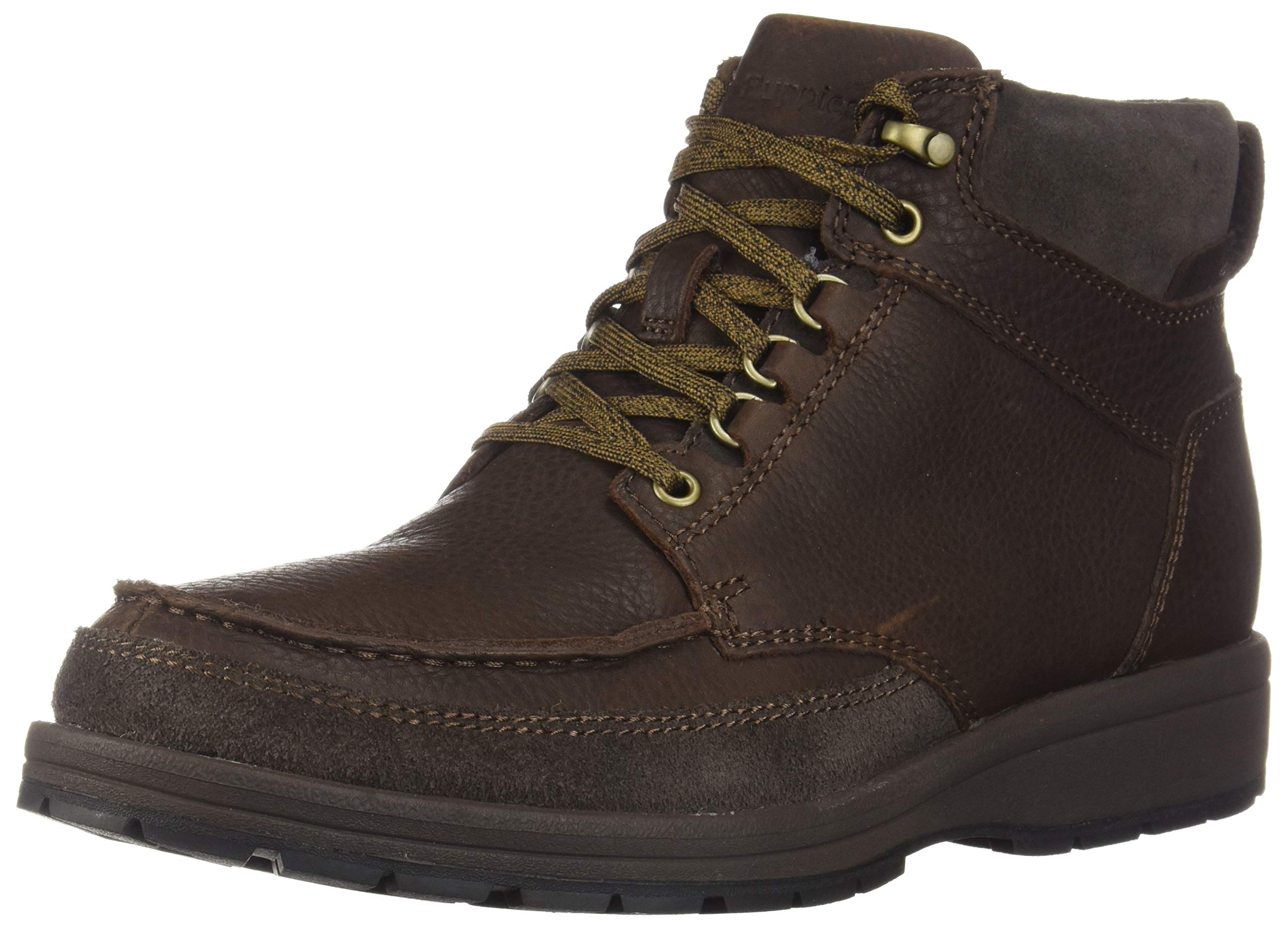 Hush Puppies Men's Beauceron Tall ICE+ Oxford Boot, Dark Brown wp Leather, 10.5 M US