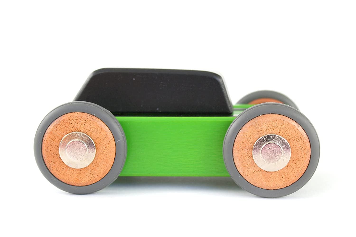 15 Piece Tegu Hatch Magnetic Wooden Block Car
