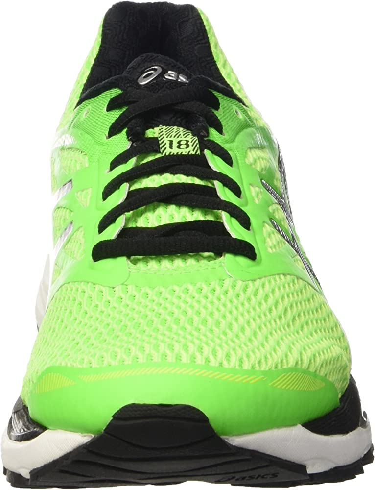 Asics Gel-Cumulus 18, Zapatillas de Running para Hombre, Verde ...