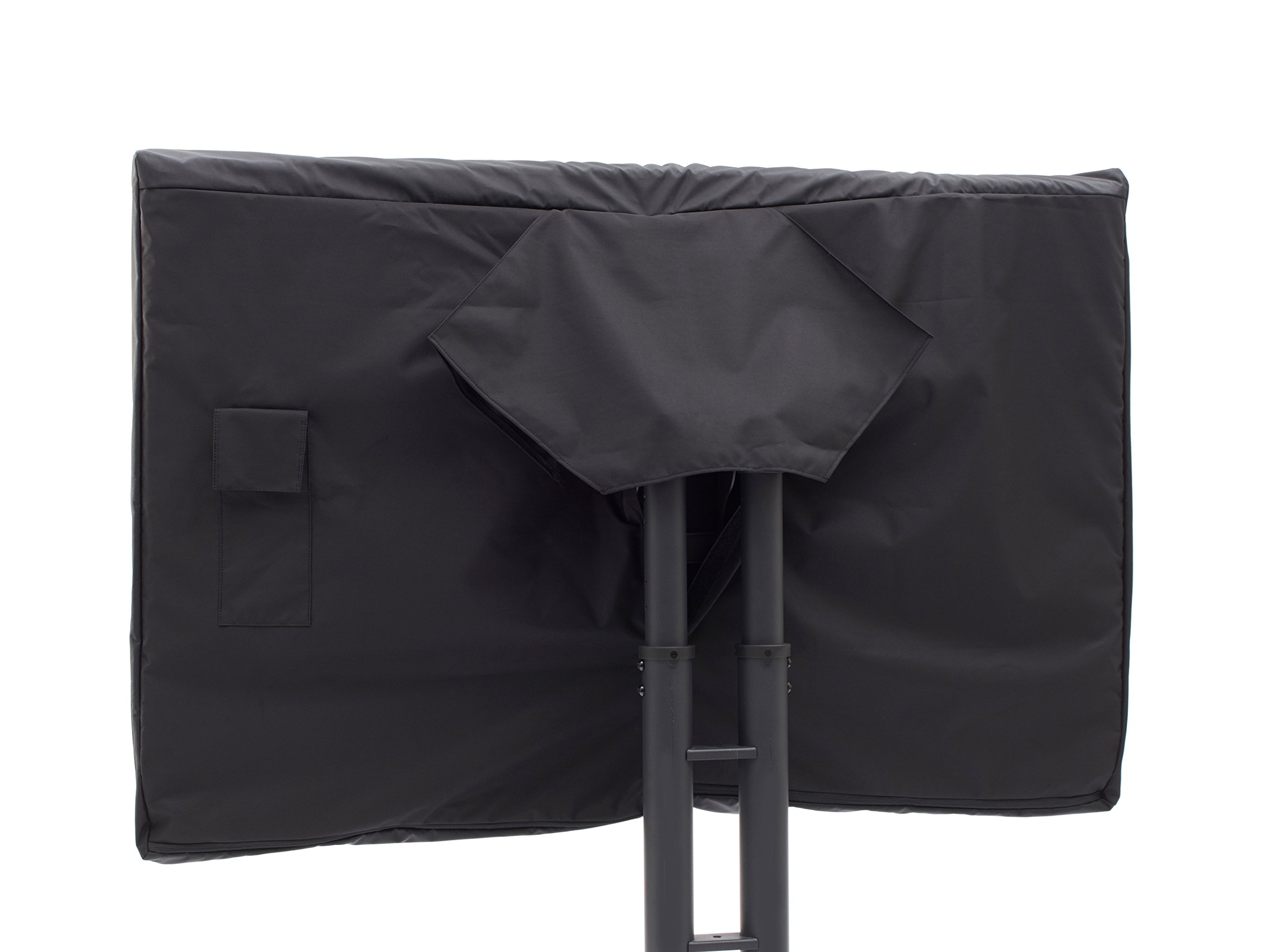 CoverMates – Outdoor TV Full Cover – Fits 65'' to 68'' Flat TVs – 7 Year Warranty- Black