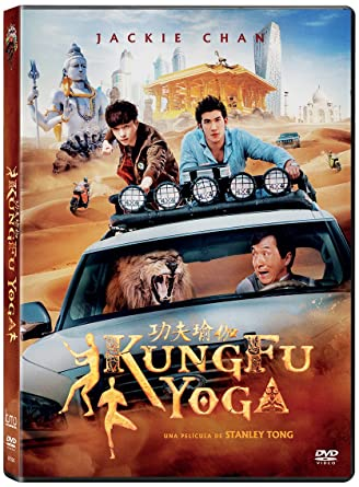 Kung Fu Yoga [DVD]: Amazon.es: Jackie Chan, Aarif Lee, Disha ...