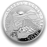Silbermünze Arche Noah - 2017 - 1 Unze - prägefrisch - einzeln in Münzkapsel verpackt