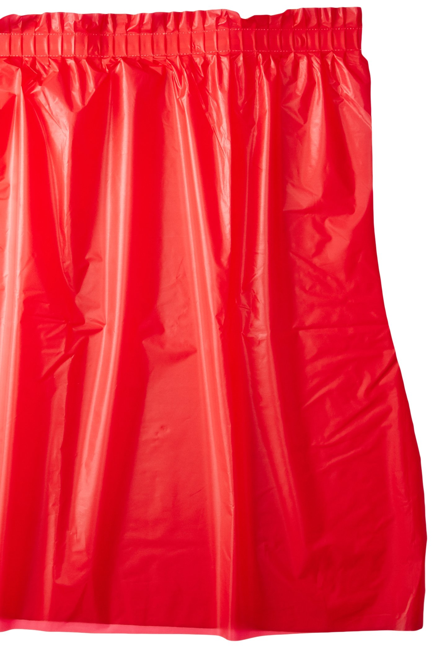 Creative Converting Plastic Table Skirt, 14-Feet, Classic Red by Creative Converting (Image #1)