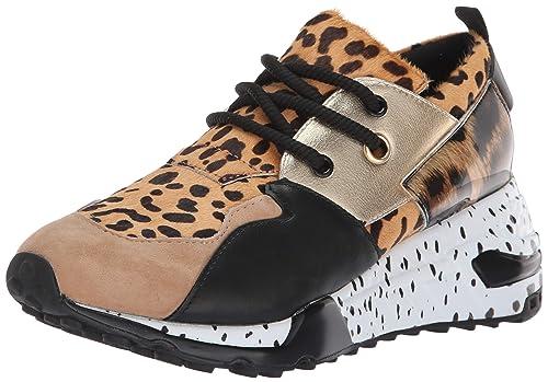 022eda448db Steve Madden Sneaker Cliff Animal  Amazon.it  Scarpe e borse