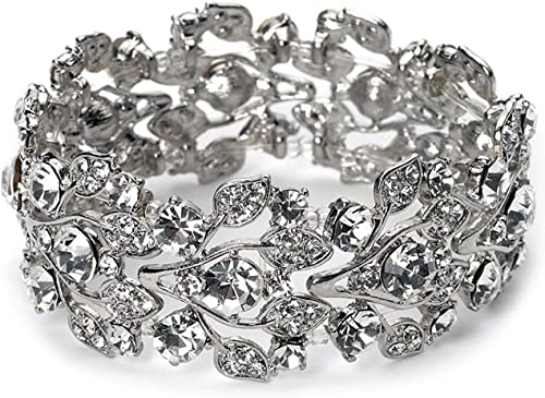 Amazon Com Bella Vouge Bridal Wedding Jewelry Crystal Rhinestone