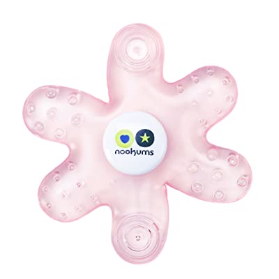 Nookums Paci-Plushies Teether (Pink Teether) : Baby