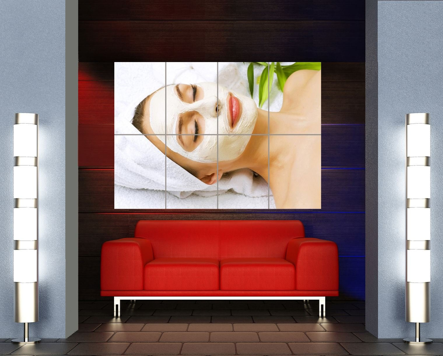 Doppelganger33LTD SALON SPA HEALTH BEAUTY FACIAL NEW GIANT WALL ART PRINT PICTURE POSTER OZ582