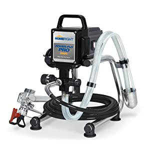 HomeRight Power Flo Pro 2800 C800879 Airless Paint Sprayer Spray Gun, Power Painting Home Exterior, Fence, Shed Garage 2800 psi, 0.24 gpm