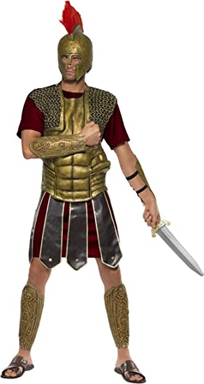 Roman Worrior Gladiator Sword Adult Mens Smiffys Fancy Dress Costume Accessory