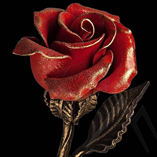 Amazon.com: Hand Forged Iron Rose - 11th/6th Year Wedding ...