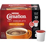 Carnation Hot Chocolate, Rich and Creamy, Keurig K-Cup Compatible Pods, 30x15g (30 Count)