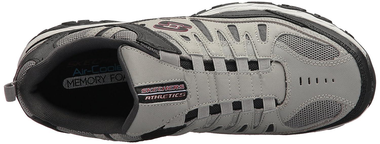 Skechers-Afterburn-Memory-Foam-M-fit-Men-039-s-Sport-After-Burn-Baskets-Chaussures miniature 53