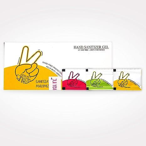 Buy Palmist Hand Sanitizer Sachet Box Pack Of 30 Sachet Online