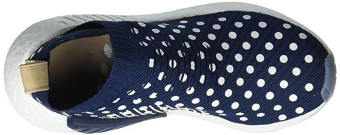 901bed82fffdb Adidas Originals NMD CS2 Primeknit Boost W Women s Trainers Blue BA7212   Amazon.co.uk  Shoes   Bags