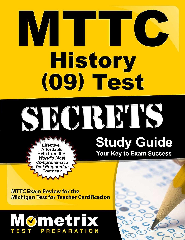 Amazon Mttc History 09 Test Secrets Study Guide Mttc Exam